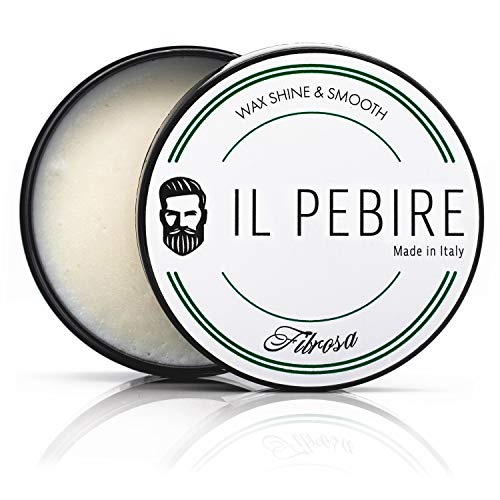 IL PEBIRE Fibrosa - Stylingcreme mit variablen Halt & zarten Glanz für natürliche Styles - Hair-Clay für professionelles Styling - 100ml Forming Cream made in Italy