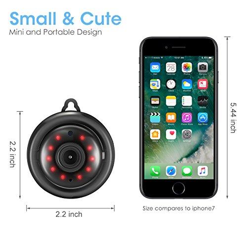 DIGOO Mini 960P Wlan kamera - 2