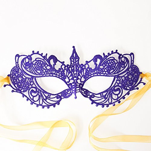 Samantha Peach Maske - Die authentische 50 Nuancen dunkler Ana Luxus Spitze Anastasia Göttin Maske