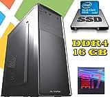 PC DESKTOP AGM Intel i7-9700 / 16GB RAM DDR4 / SSD 480GB - HD 1TB / WI-FI / MASTERIZZATORE / LICENZA WINDOWS 10