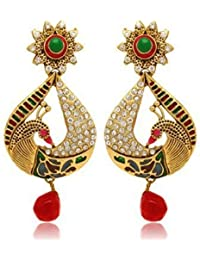 YouBella Traditional Gold Plated Jewellery Pearl Jhumka / Jhumki Fancy Earrings For Girls And Women