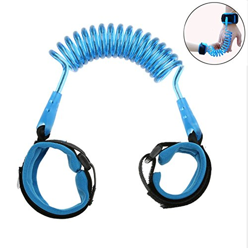 Bebé anti-lost cinturón Arnés de Seguridad, Beauty DIY Mart Correas de arnés de seguridad para niños / bebés, arnés de seguridad perfecto para viajes (1.5m azul)