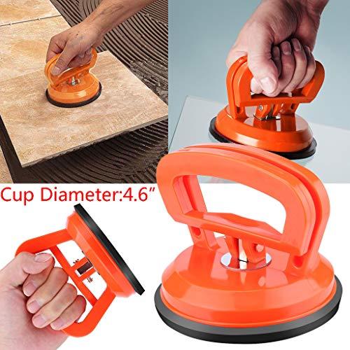 TianranRT❄Saugnapf Körper,Auto Saugnapf Saugnapf Puller Griff Für Dellenreparatur Heavy Duty Galss Lif Haushaltswerkzeug (Orange) (45 Auto Stirbt)