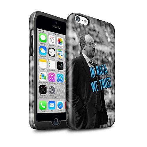 Offiziell Newcastle United FC Hülle / Glanz Harten Stoßfest Case für Apple iPhone 5C / Pack 8pcs Muster / NUFC Rafa Benítez Kollektion Wir Vertrauen