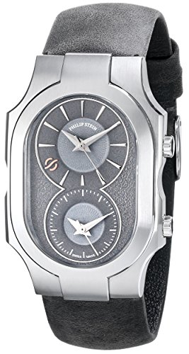 Philip Stein Men's 200-SDG-CAGR Swiss Signature Analog Display Swiss Quartz Grey Watch