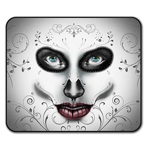Maske Stilvoll Gesicht Mode Mouse Mat Pad, Schönheit Rutschfeste Unterlage - Glatte Oberfläche, verbessertes Tracking, Gummibasis von Wellcoda