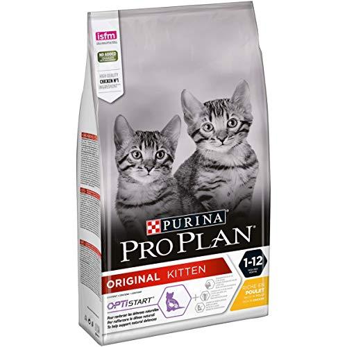 PRO PLAN Chat Junior -  Riche en Poulet - 1,5 KG - Croquettes pour chaton