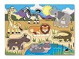 Melissa & Doug - Rompecabezas Safari de 7 piezas (19054) - Melissa & Doug - amazon.es
