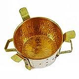 Indian Sigdi Königlichen Traditionelle Kupfer Messing Kostwärmer Küchen Angeethi
