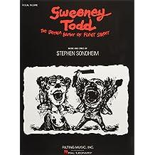Stephen Sondheim: Sweeney Todd - Vocal Score