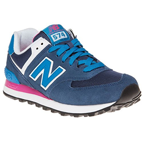 New Balance 574, Baskets Basses Femme