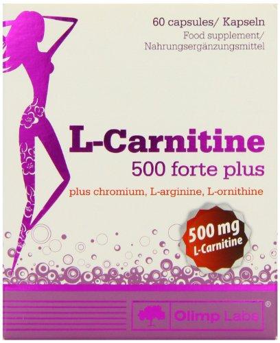 Olimp L-Carnitine 500 Forte Plus 60 Kapseln, 1er Pack (1 x 60 g)