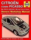 Citroen Xsara Picasso Petrol and Diesel Service and Repair Manual: 2004 to 2008 (Service & repair manuals)