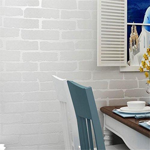 GUOW Ungewebt Tapeten Tapete Hintergrund Kulissen Mustern Retro nostalgisch Ziegel Mustern tapate Zuhause , B-3 Anker Kulissen