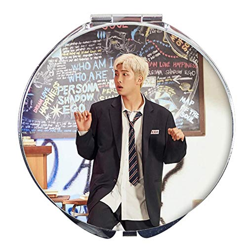 Skisneostype BTS Faltbarer Spiegel, KPOP Bangtan Jungen Jungkook Jimin V Suga Jin J-Hope Rap Monster Mini Handspiegel für The Army (Style 11) - Reflexion 2 T-shirt
