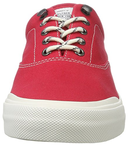 Tommy Hilfiger Y2285armouth 1d, Sneaker Basses Homme Rouge (Tango Red 611)