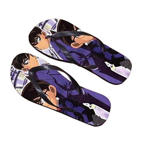 Bromeo Detective Conan Anime Unisex Flip Flops Zehentrenner Flip Pantoffeln 647 u4YY6hEO