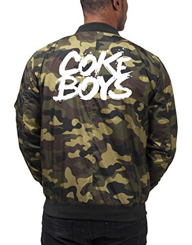 Coke Boys Bomberjacke Camouflage Certified Freak-S