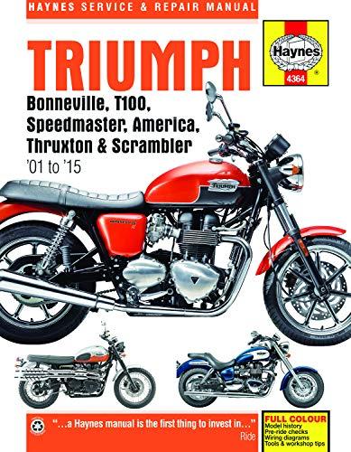 Triumph Bonneville, T100, Speedmaster, America, Thruxton & Scrambler: 2001 to 2015 PDF Books