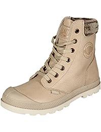 Palladium Damen Pampa Knit Lp F Hohe Sneaker