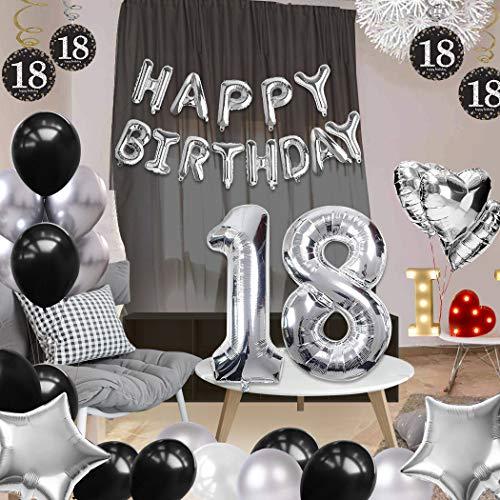 Coolba Globos Decoración Cumpleaños 18