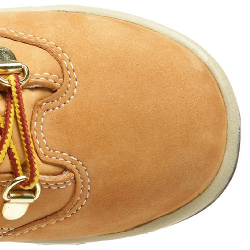Timberland 6-Inch Leather and Fabric Field Boot Cuir Botte Wheat