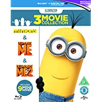 Minions Collection (Despicable Me 1 & 2/Minions) Blu-ray