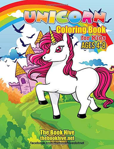 Unicorn Coloring Books for Kids Ages 4-8: Unicorn Fun Coloring Book for Kids Boys Girls Toddlers Ages 4 5 6 7 8: Volume 1 (Relaxation Coloring Book for Kids Children Activity Books Paint Books) por Melissa Smith
