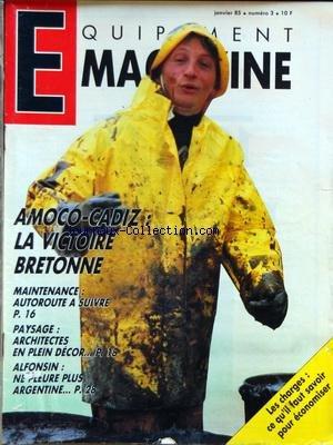 EQUIPEMENT MAGAZINE [No 3] du 01/01/1985...