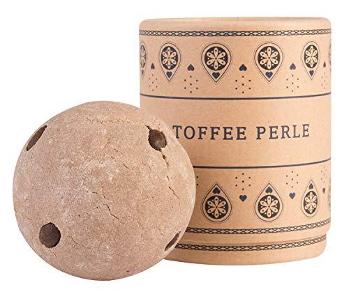 Weiße Schokolade-schaum (Lumunu Deluxe Badebombe Toffee Perle, Schwere Xxl Badekugel Mit Pflegender Kakao Butter, Vegan & Tierversuchsfrei, 180 G)