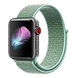 HILIMNY Für Apple Watch Armband 38MM, Ersatz für iwatch Armband Series 3, Series 2, Series 1 (Marinegrün, 38MM)