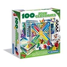 Clementoni - 52183.8 - 100 Jeux Classiques