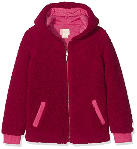 Roxy Kinder Hoodie (Roxy Mädchen Share New Words - Zip-up Hoodie for Girls, Persian red, 14/XL)