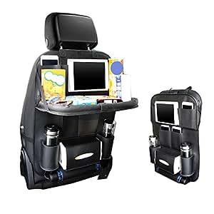 autositz organizer mit folding essbereich rack. Black Bedroom Furniture Sets. Home Design Ideas