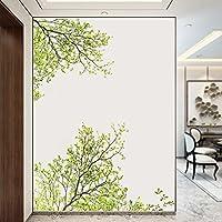 Pegatina para ventana escaparate comercio floristerias pared salon dormitorios ramas arboles de OPEN BUY