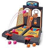 YENJOS Kids 2 Players Desktop Classic Arcade Game Juego de Disparos de Baloncesto Juego de Juguete