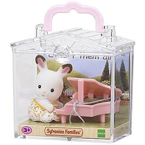 SYLVANIAN FAMILIES- Baby Carry Case Mini muñecas y Accesorios, Multicolor (Epoch para Imaginar 5202)