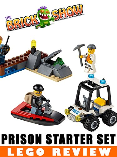 LEGO City Prison Island Starter Set Review (60127) [OV] - Filme Lego City