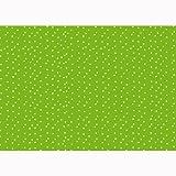 Susy Card 11273885 Geschenkpapier, 30 m, Motiv Lots of dots, grün