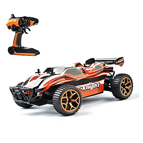 GizmoVine 1/18 RC Car 4WD High Speed 2.4Ghz Remote Control Car Electric Racing Sand RC Buggy Vehicle with Rechargeable Battery -