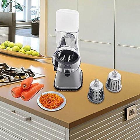 sichere Upxiang Verstellbarer Gemüseschneider und Multischneider, Küche Gemüse-Schnitt, Gemüsehobel, Gemüseschäler, Gemüsereibe Cutter Küche, Multischneider, Gemüsehobel, Gemüseschäler, Gemüsereibe