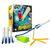 Laeto Air Blast Rocket Toys & Games Ideal Outdoor Toy Stomper 3 Rockets Included