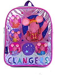 Preisvergleich für Oxbridgesatchels, Kinderrucksack Silber/Pink Dimensions: 30 x 24 x 8 cm