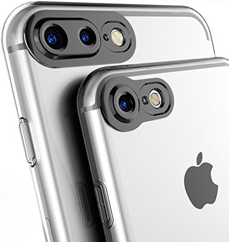 iPhone 6 Plus Case / iPhone 6S Plus Case- 100% Original Amozo® Product - Camera Protection Transparent Slim Back Cover Case For Apple iPhone 6 Plus / 6S  available at amazon for Rs.165