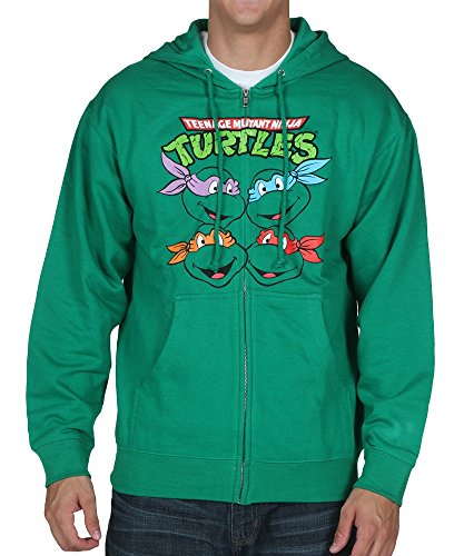 Teenage Mutant Ninja Turtles Herren Tassen Zip Hoodie (Klein)