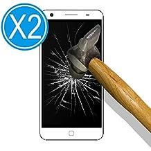 9H Tempered Glass [2 Unidades] Protector de Pantalla para [ Elephone P7000 ] Cristal Vidrio Templado Premium, Ultra Resistente a Arañazos, Dureza 9H
