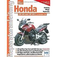 Kunststoff schwarz Honda CBF 600 S Bj Motorrad Spiegel // Verkleidungs-Spiegel rechts 2004 PC38