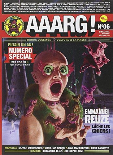 Aaarg !, N° 6 novembre-décembre 2014 : (1CD audio)