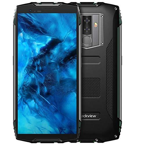 Blackview BV6800 Pro Smartphone Libres- Movil Todoterreno de 5.7 Pulgadas FHD +, Batería de 6580mAh de BAK (30 días en Espera), Impermeable IP68/A Prueba de Golpes/Octa Core 4GB+64GB -Verde