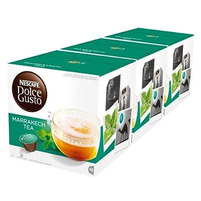 Nescafe Dolce Gusto Dosettes capsules Thé Original